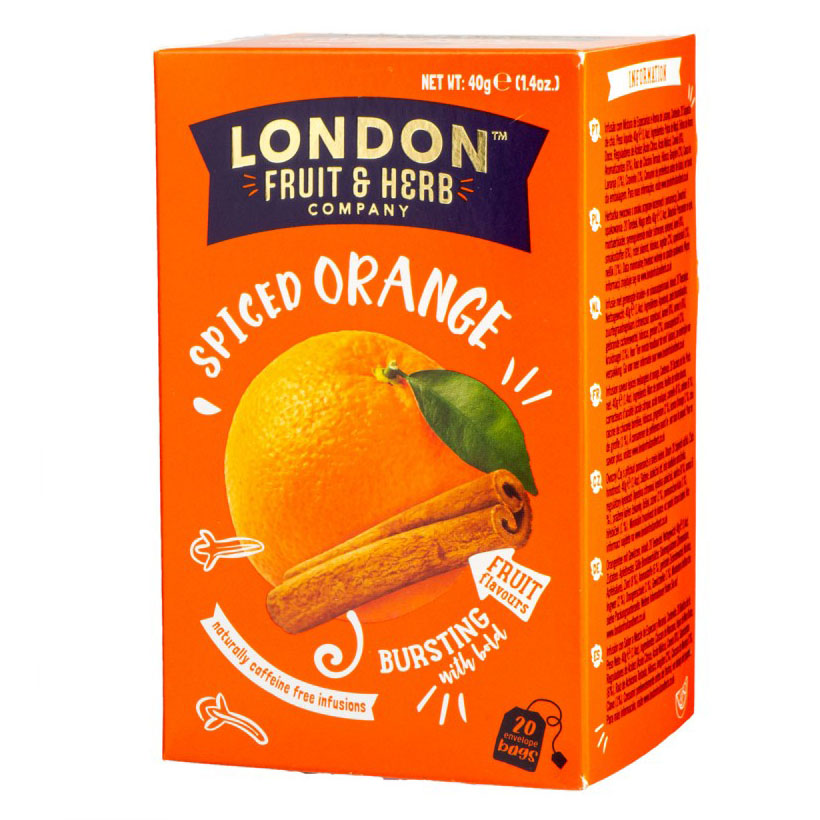 London Fruit & Herb orange spicer fruktte 20 poser