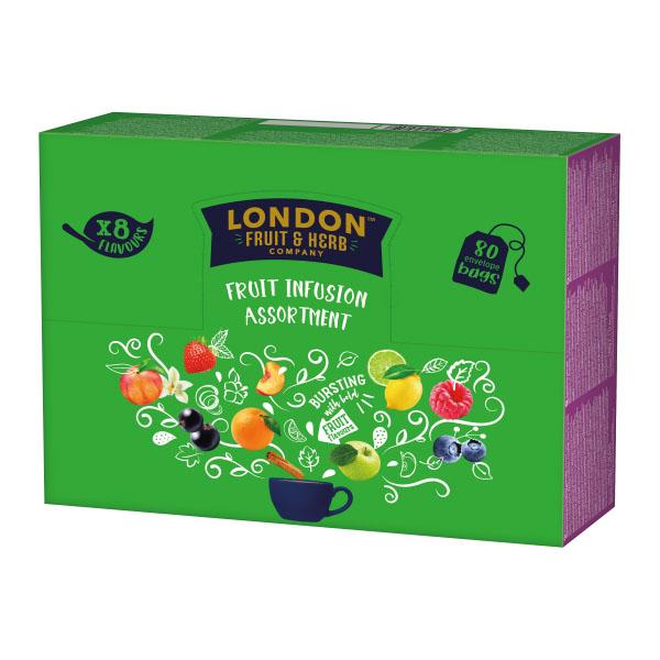 London fruit & herb fruit infusion assortment