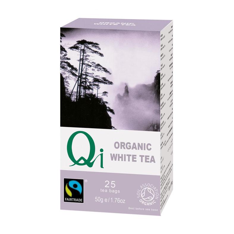 Qi white tea 25 poser