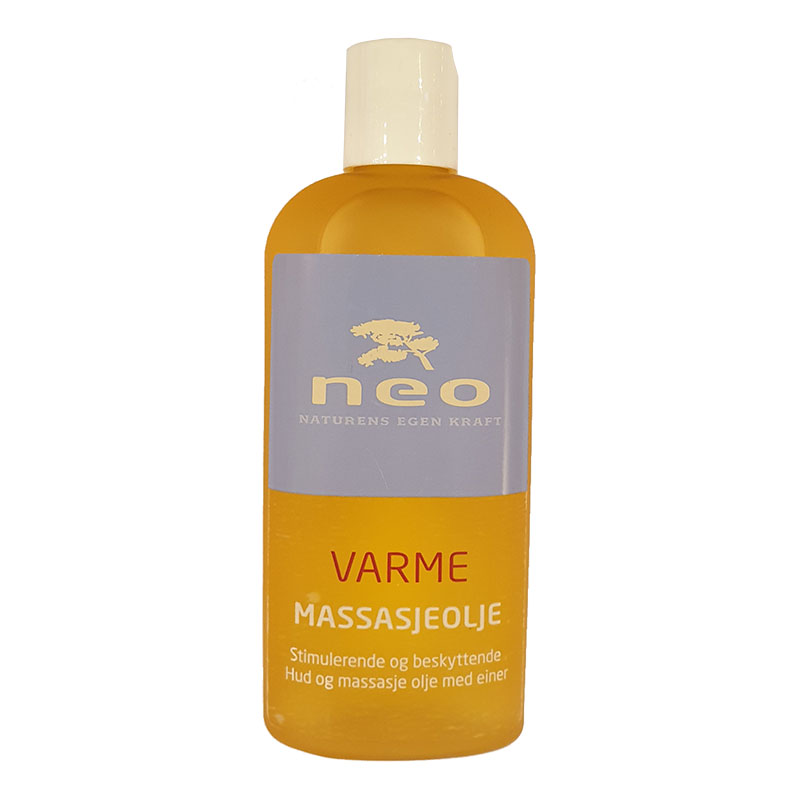 Neo massasjeolje varme 125 ml