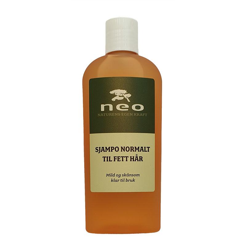 Neo sjampo normalt til fett hår 250 ml