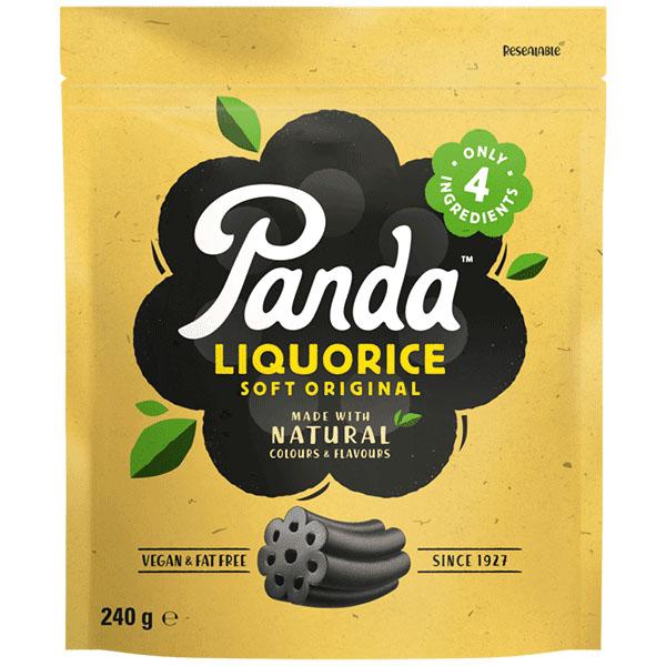 Panda original liquorice 240 gr