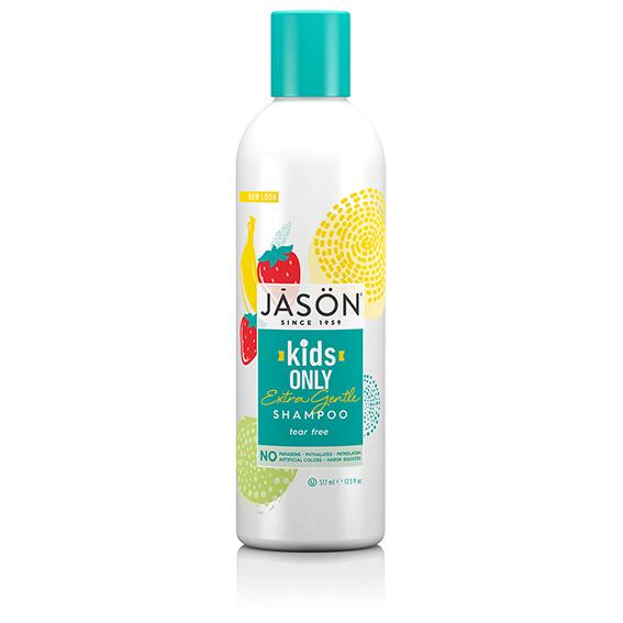 Jason kids only gentle shampoo 517 ml