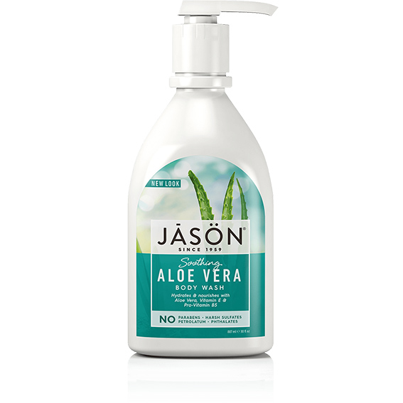 Jason aloe vera body wash 887 ml