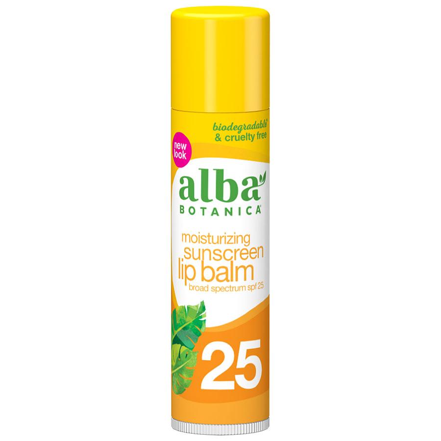 Alba lip balm sunscreen (SPF 25)
