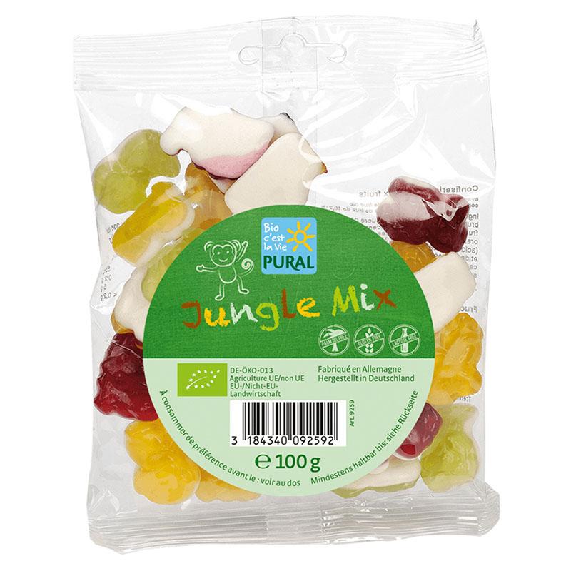 Pural jungle mix fruktgummi 100 gr