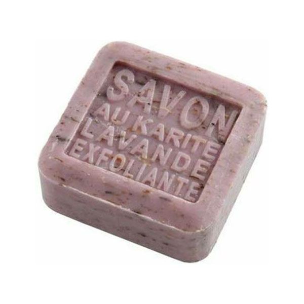 Panier des Sens såpe lavendel skrubb