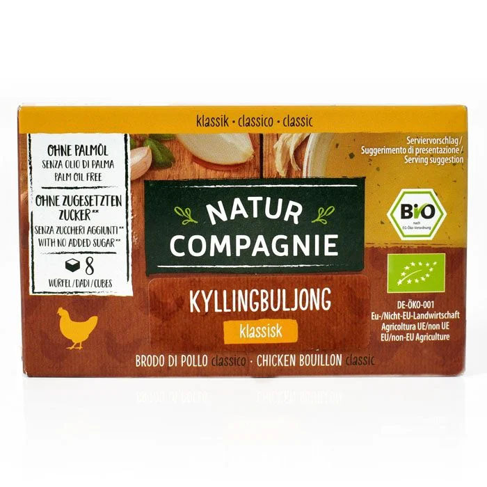 Natur Compagnie kyllingbuljong 8 kuber 88 gr øko