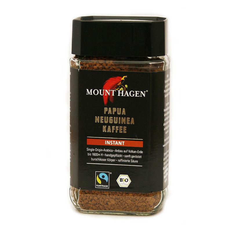 Mount Hagen kaffe instant 100 gr øko