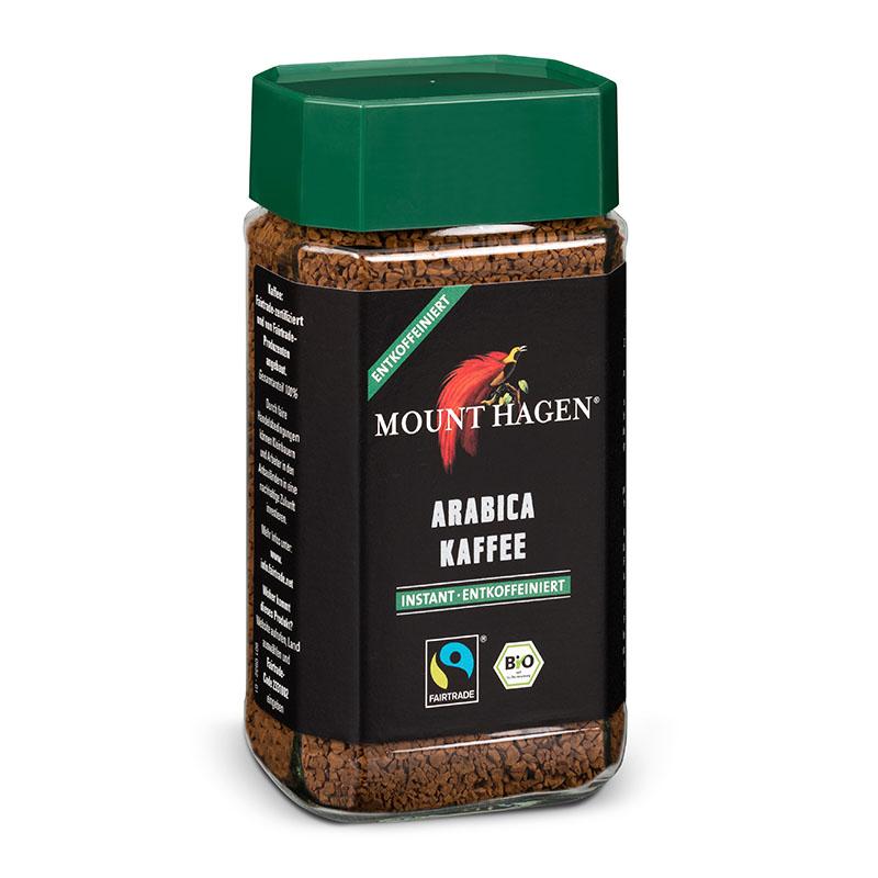 Mount Hagen kaffe instant koffeinfri 100 gr øko