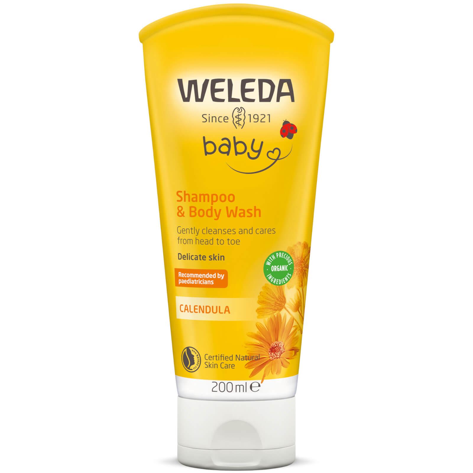 Weleda calendula shampoo & bodywash 200 ml