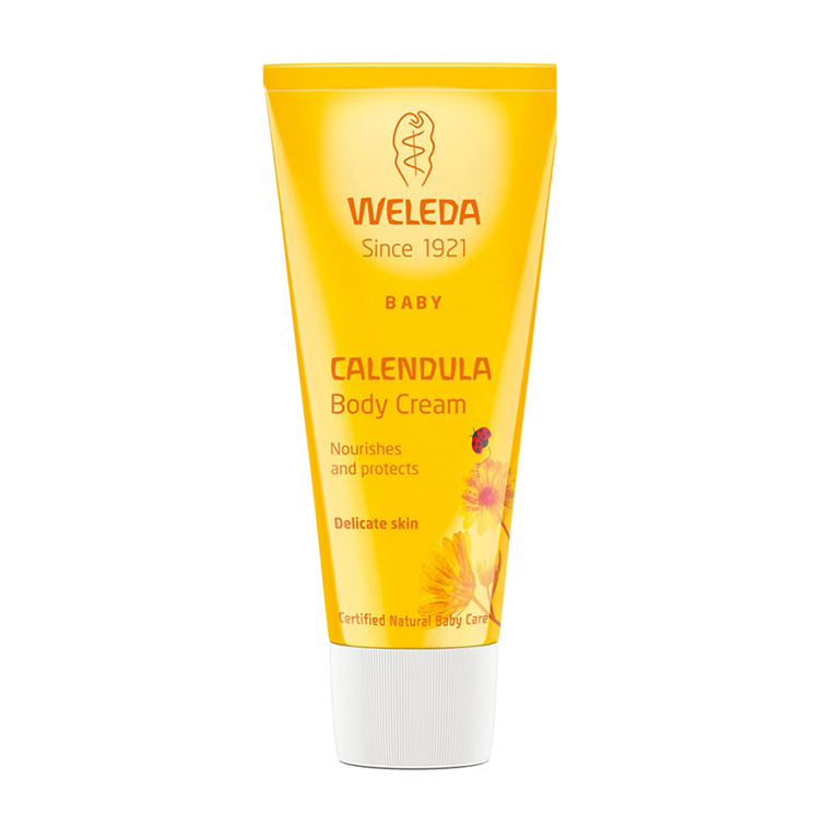 Weleda calendula moisturing body cream 75 ml