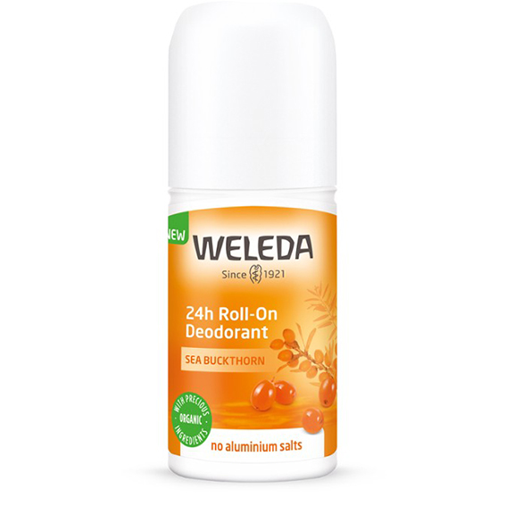 Weleda deodorant roll-on sea buckthorn 24 h 50 ml