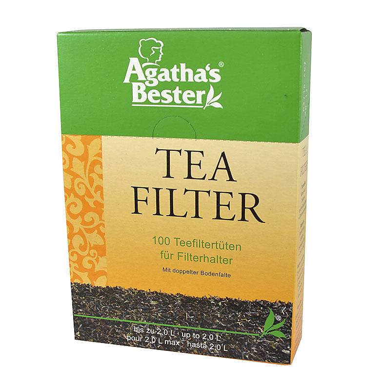 Agathas tefilter papir 100 stk