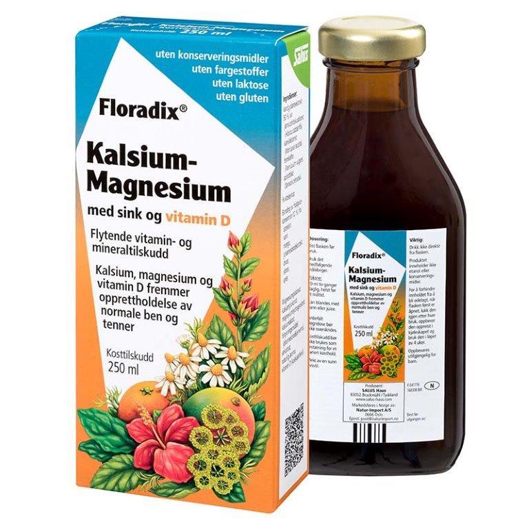 Floradix calcium-magnesium-zink 250 ml