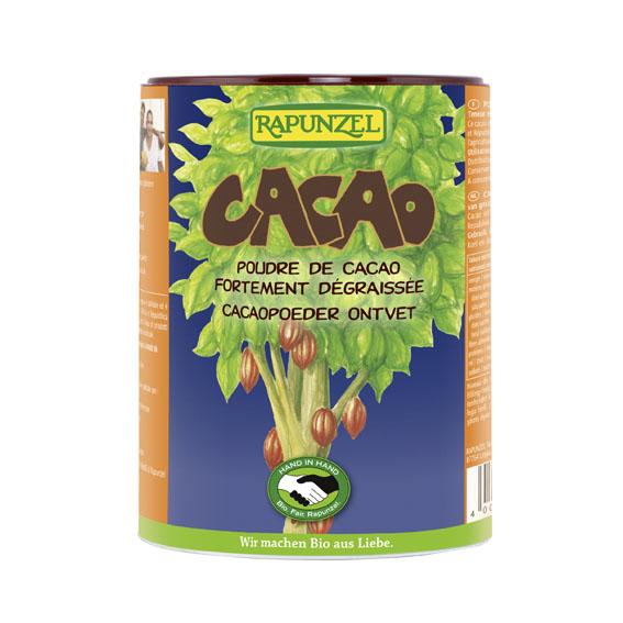 Rapunzel kakaopulver boks 250 gr