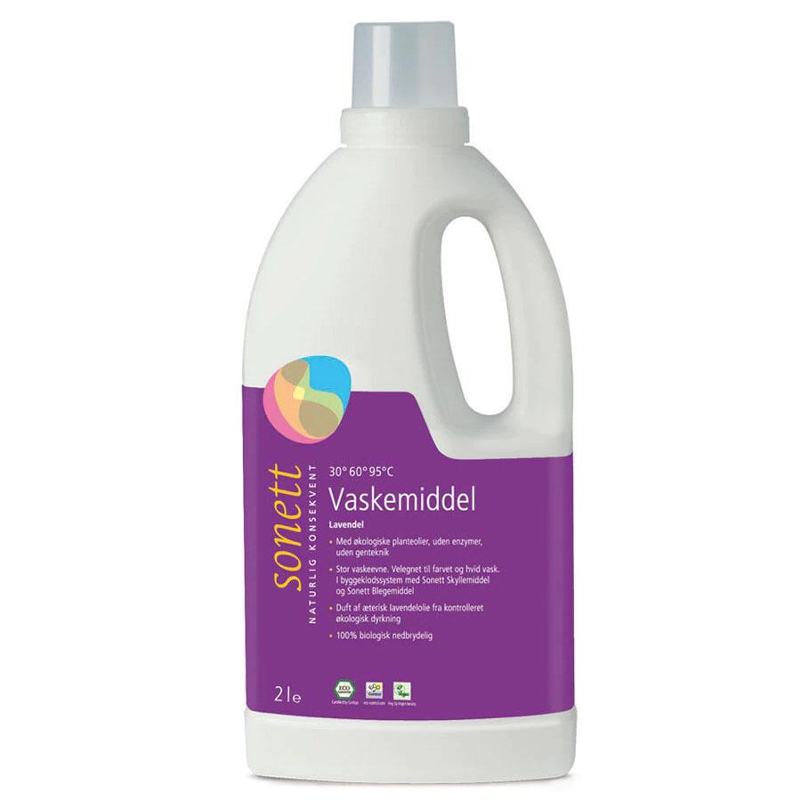 Sonett flytende vaskemiddel lavendel 2 l øko