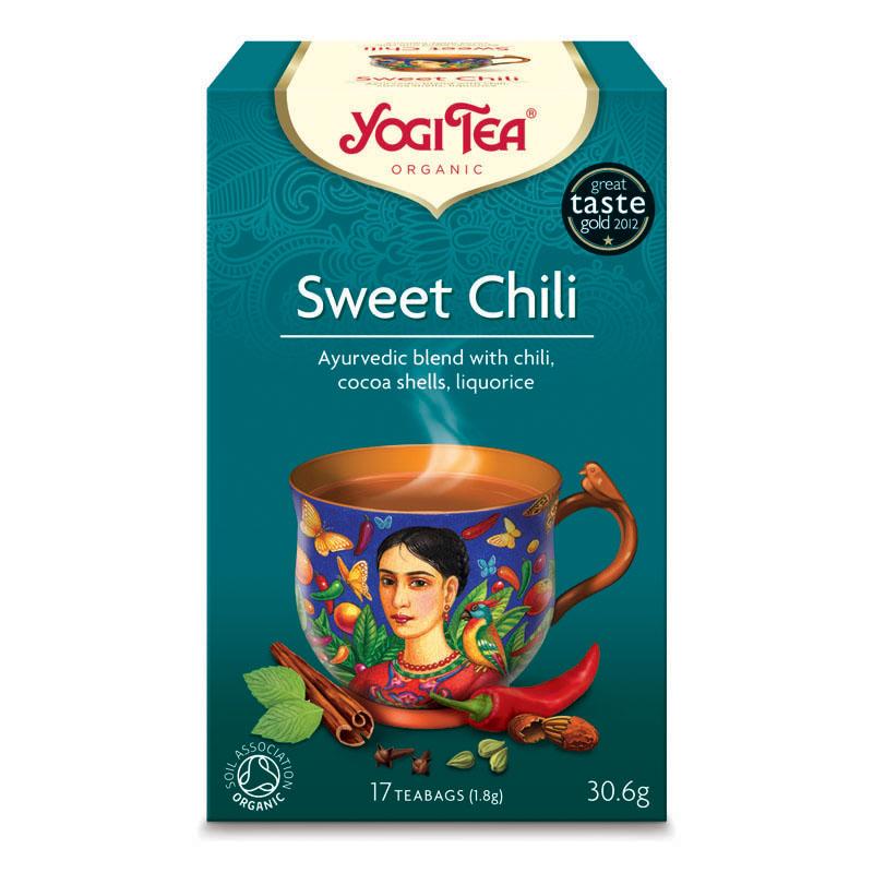 Yogi Tea sweet chili mexican spice 17 poser