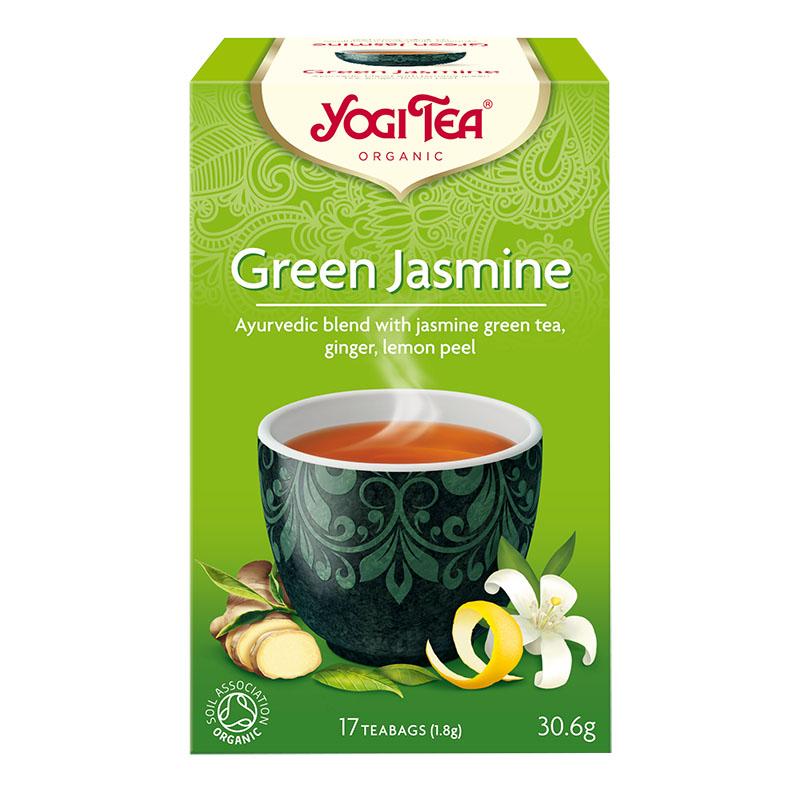 Yogi Tea green jasmine 17 poser