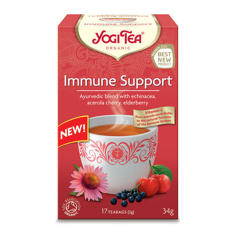 Yogi Tea immune support 17 poser