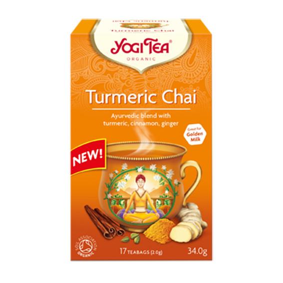 Yogi Tea turmeric chai 17 poser