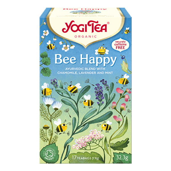 Yogi Tea bee happy 17 poser