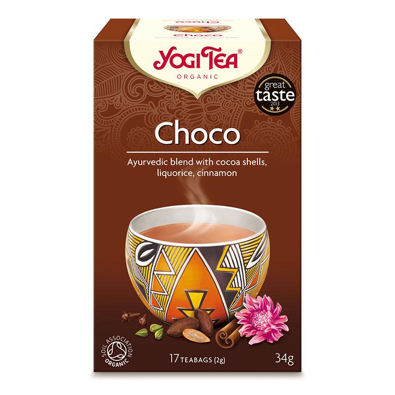 Yogi Tea choco 17 poser