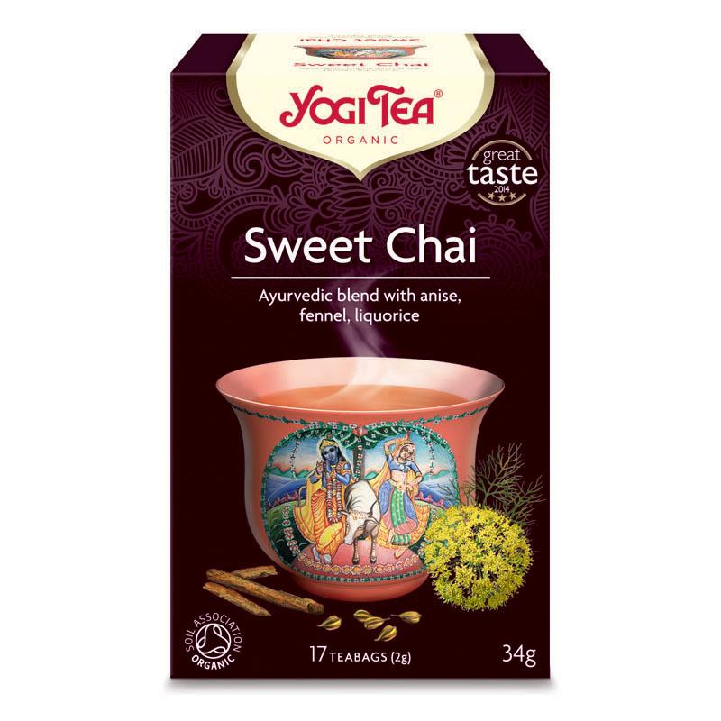 Yogi Tea sweet chai 17 poser