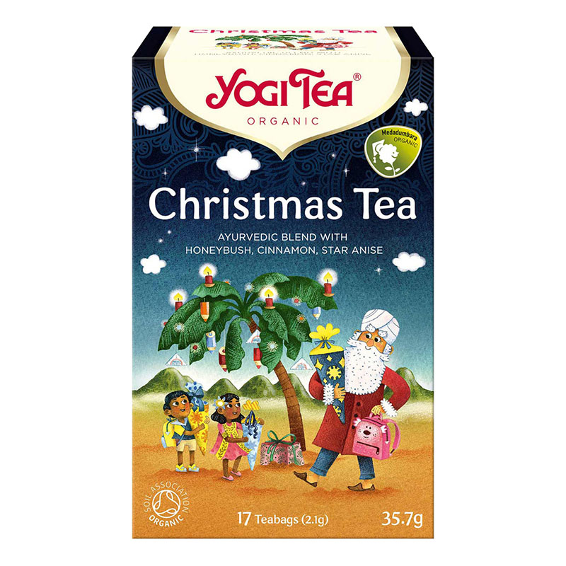 Yogi Tea christmas te 17 poser