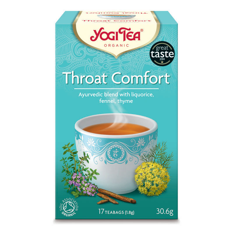 Yogi Tea throat comfort 17 poser