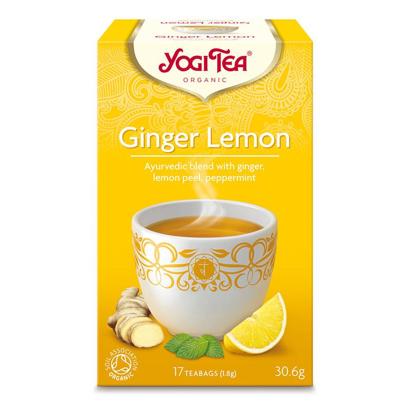 Yogi Tea ginger lemon 17 poser