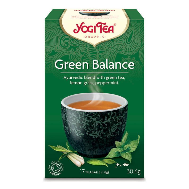 Yogi Tea green balance 17 poser