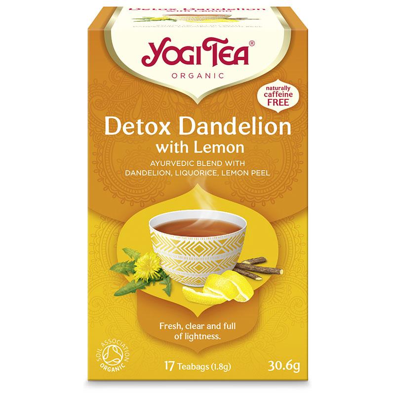 Yogi Tea detox with lemon 17 poser