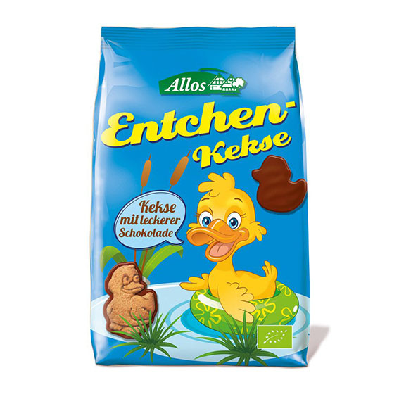 Allos fullkornskjeks sjokolade 150 gr