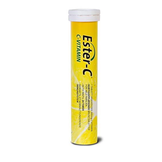 Ester-C vitamin c 200 mg 20 brusetabletter