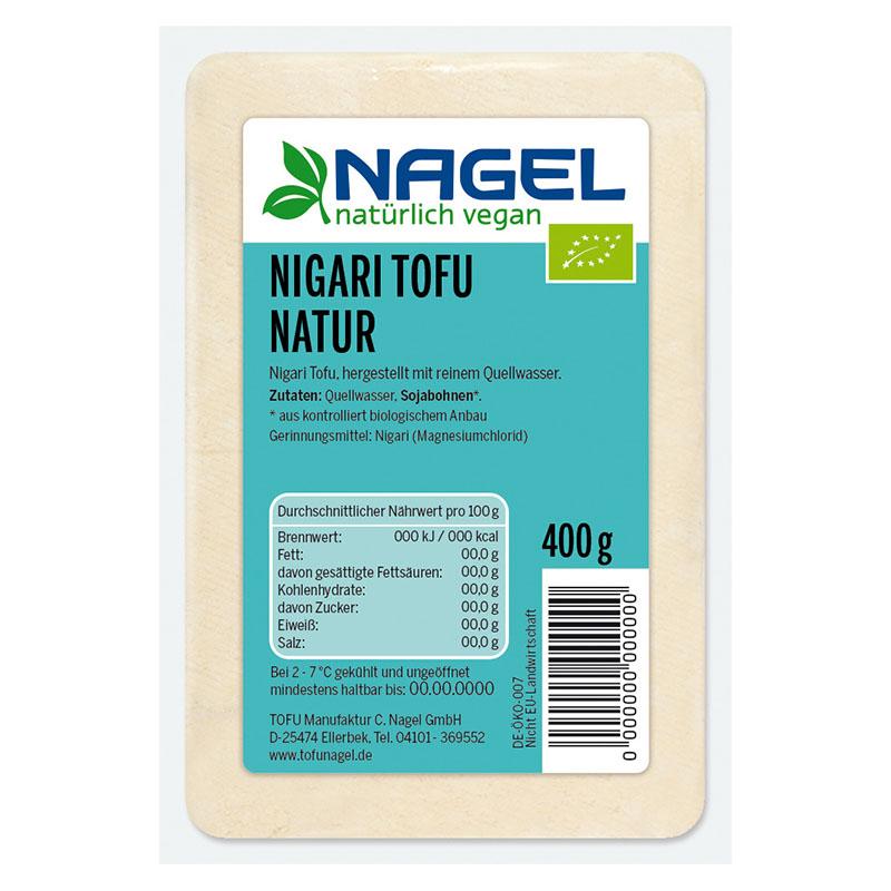 Nagel Tofu nigari tofu naturel 400 gr