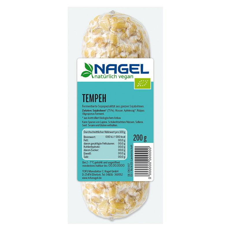 Nagel Tofu tempeh 200 gr