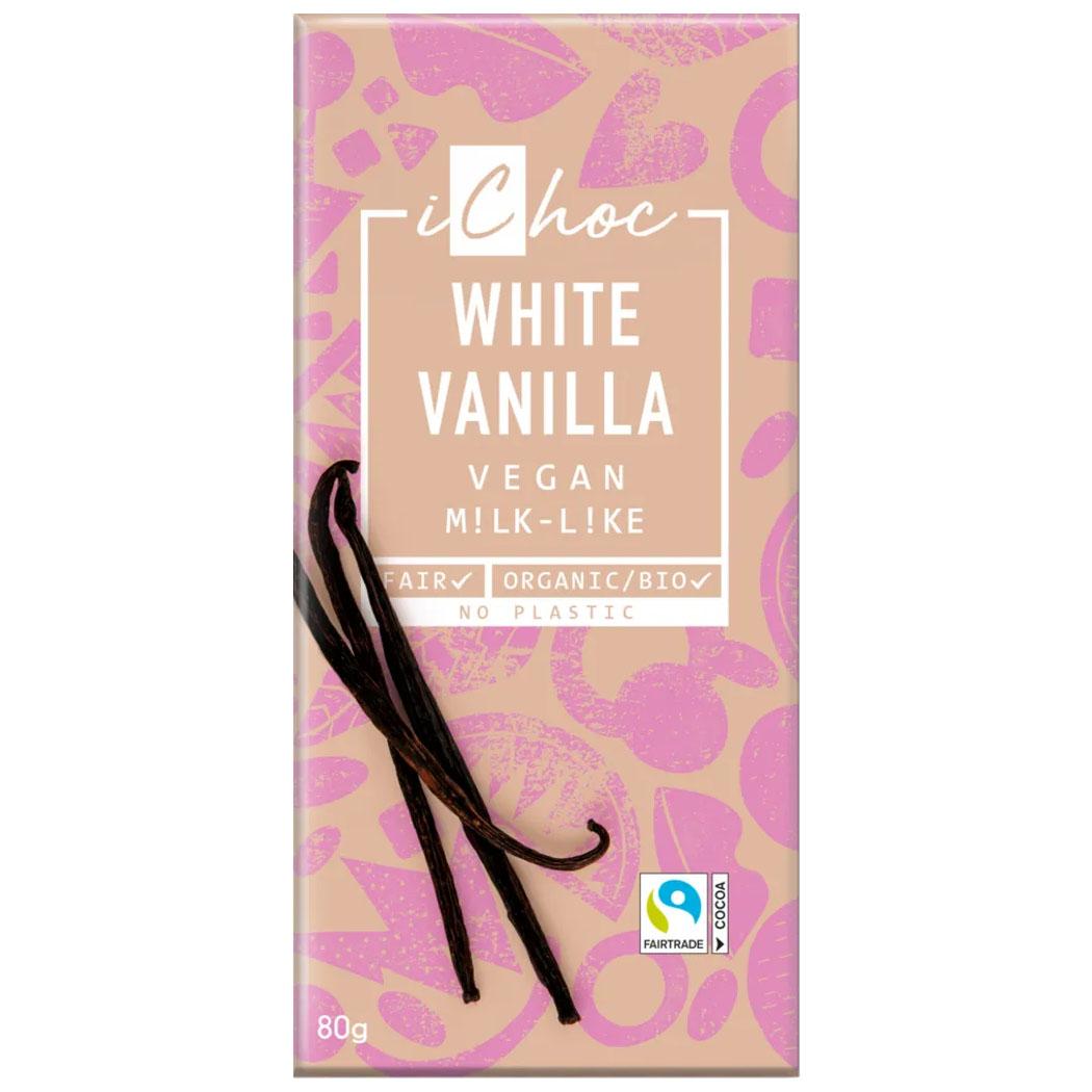 iChoc white vanilla 80 gr
