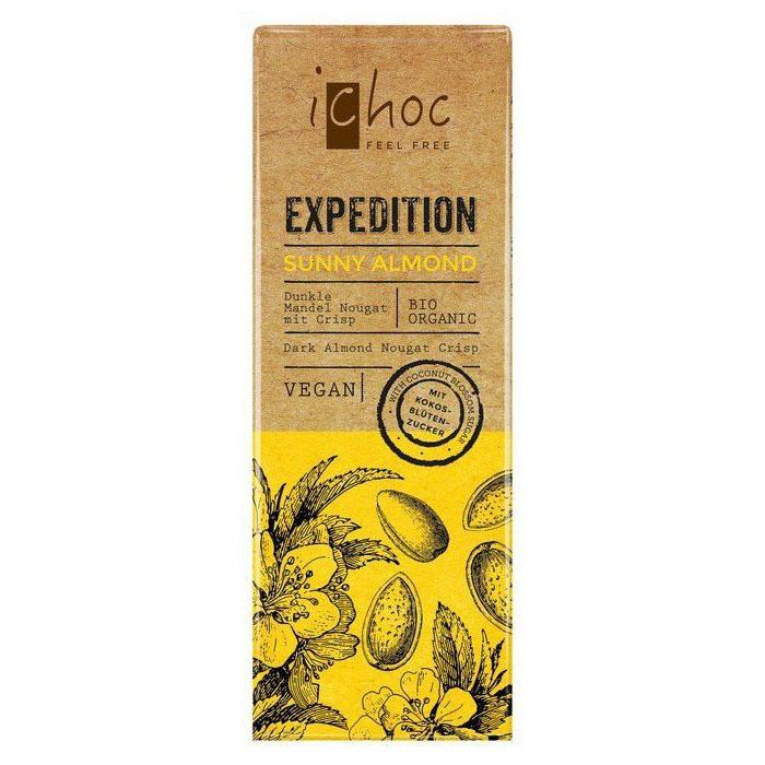iChoc sunny almond 50 gr