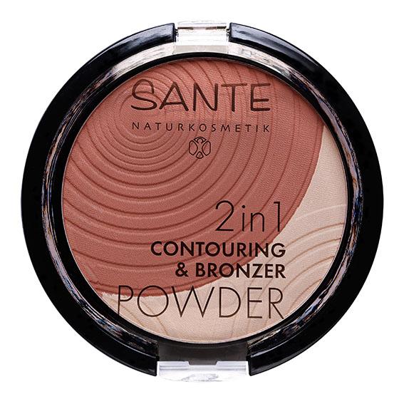 Sante 2in1 contouring & bronzing powder 01