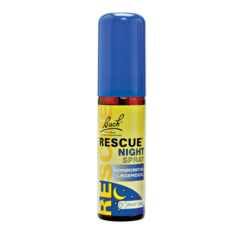 Bach rescue remedy night spray 20 ml