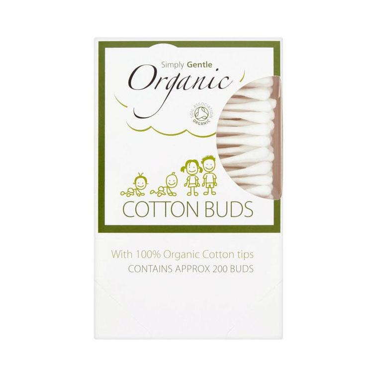 Simply organic q-tips 200 stk