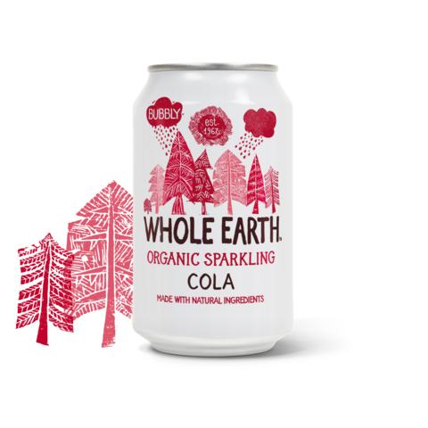 Whole Earth organic sparkling cola 330 ml
