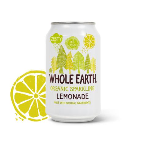 Whole Earth lemonade sparkling organic 330 ml