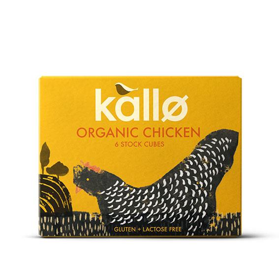 Kallø kyllingbuljong kuber 68 gr