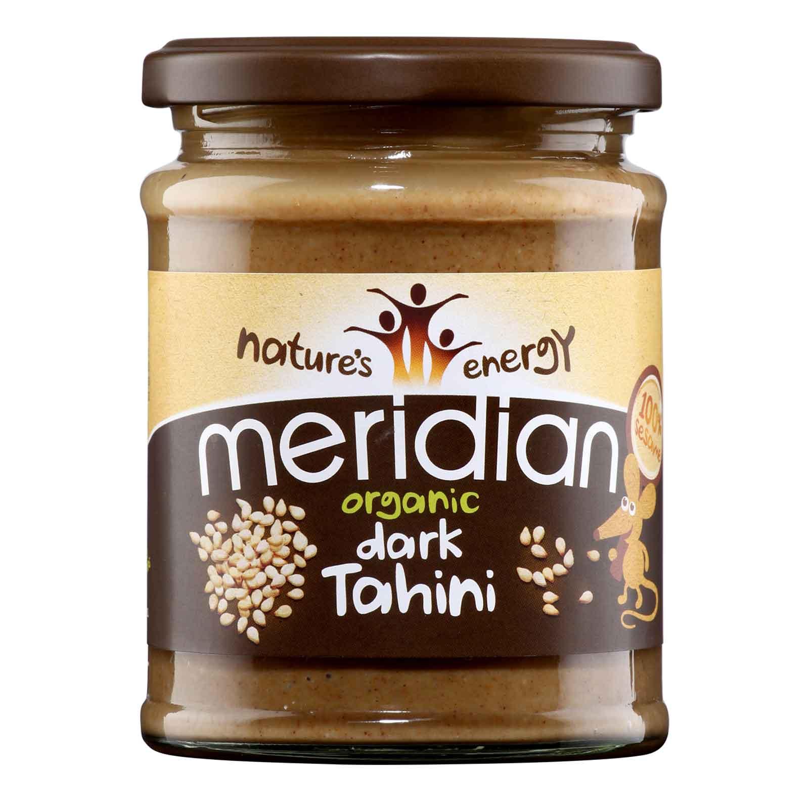 Meridian organic dark tahini 270 gr