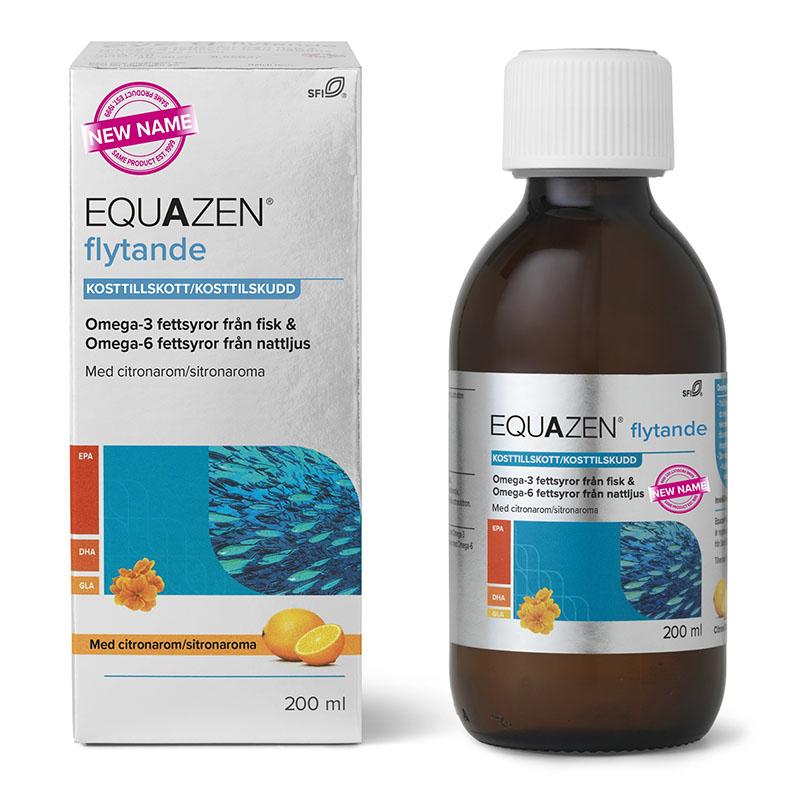 Eye Q flytende m/sitron 200 ml