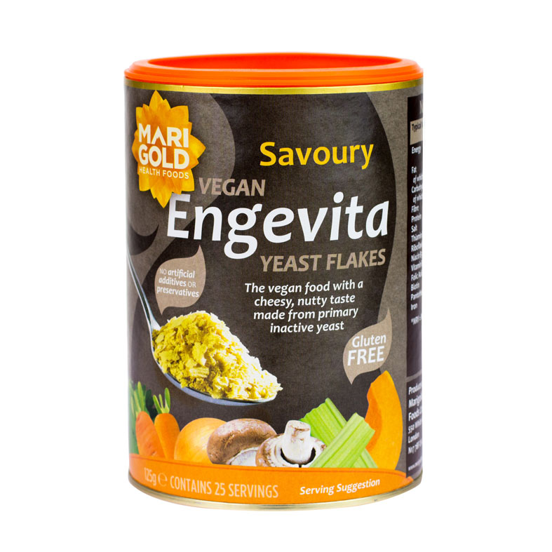Marigold engevita yeast flakes 125 gr