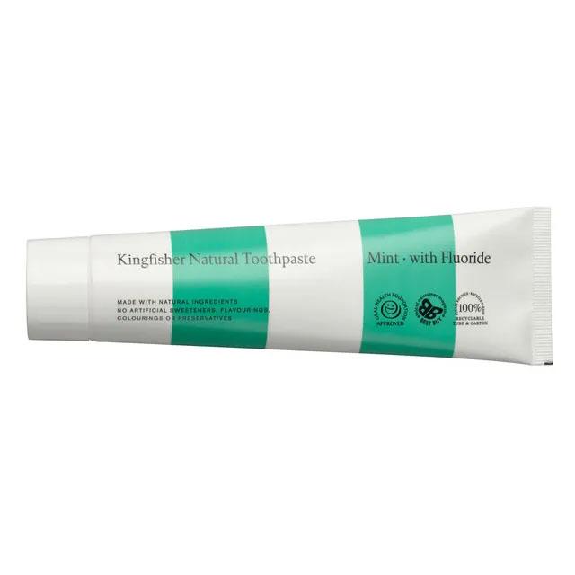 Kingfisher mint m/fluor tannkrem 100 ml