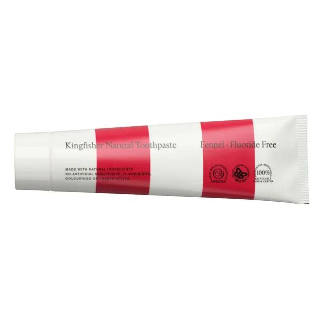 Kingfisher fennikel u/fluor tannkrem 100 ml